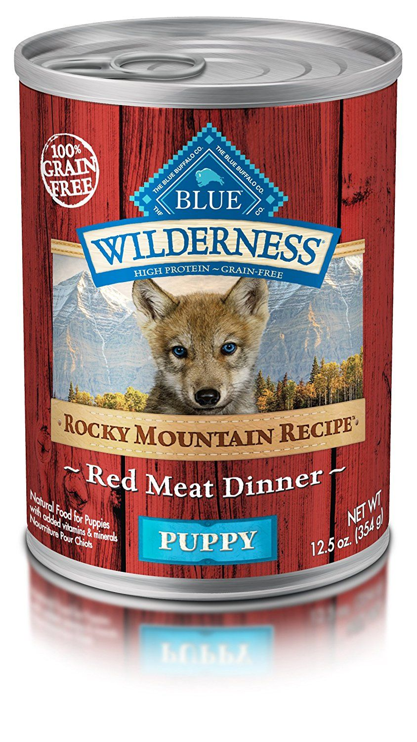 Blue buffalo wilderness high protein wet puppy food you