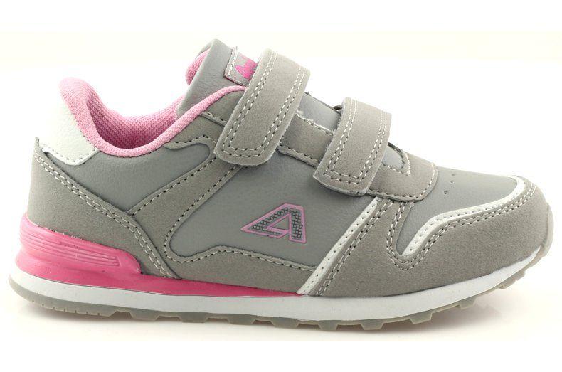 American Club Sportowe Na Rzepy American Wkladka Skorzana Rozowe Szare Biale Dc Sneaker New Balance Sneaker Shoes