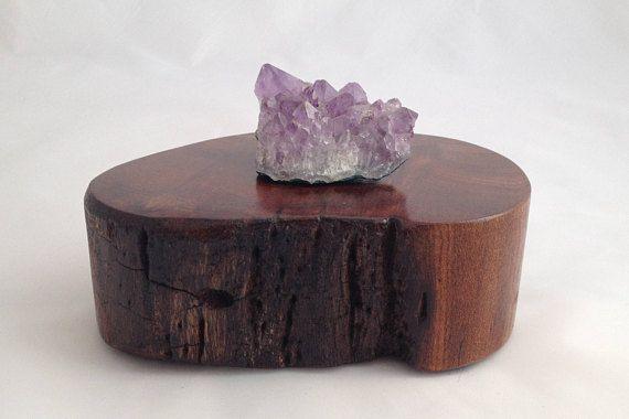 Jewelry Stand Wood Plinth Unusual Display Stand Interesting