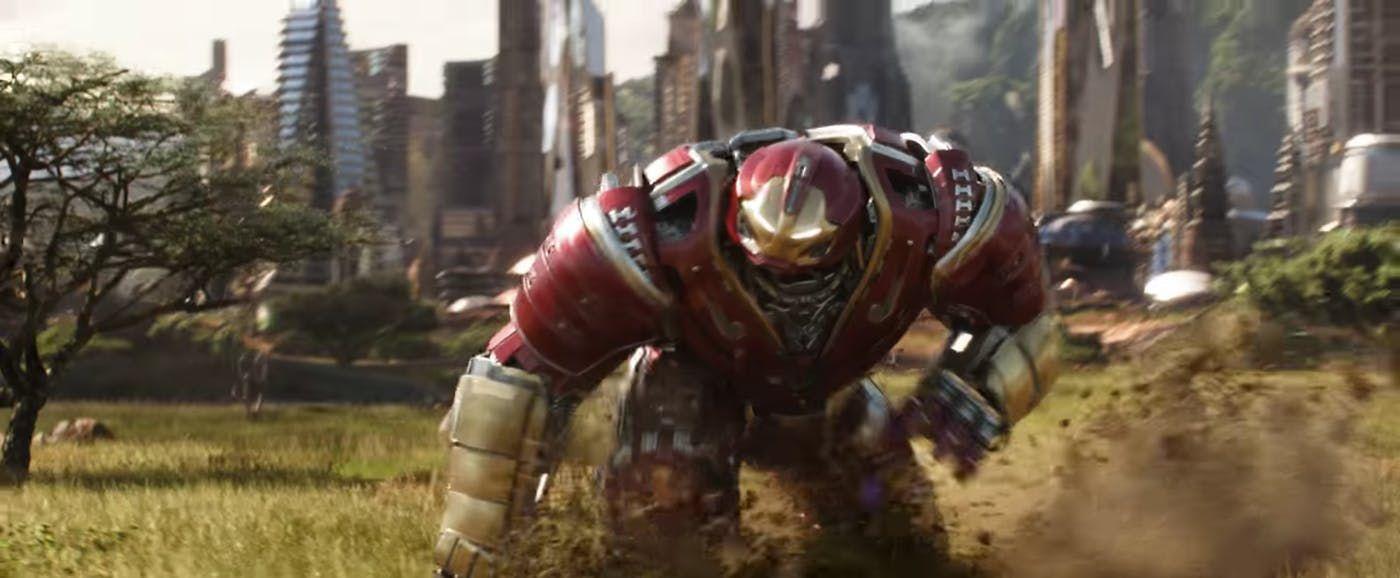 Hulkbuster hulkbuster infinity war avengers infinity war