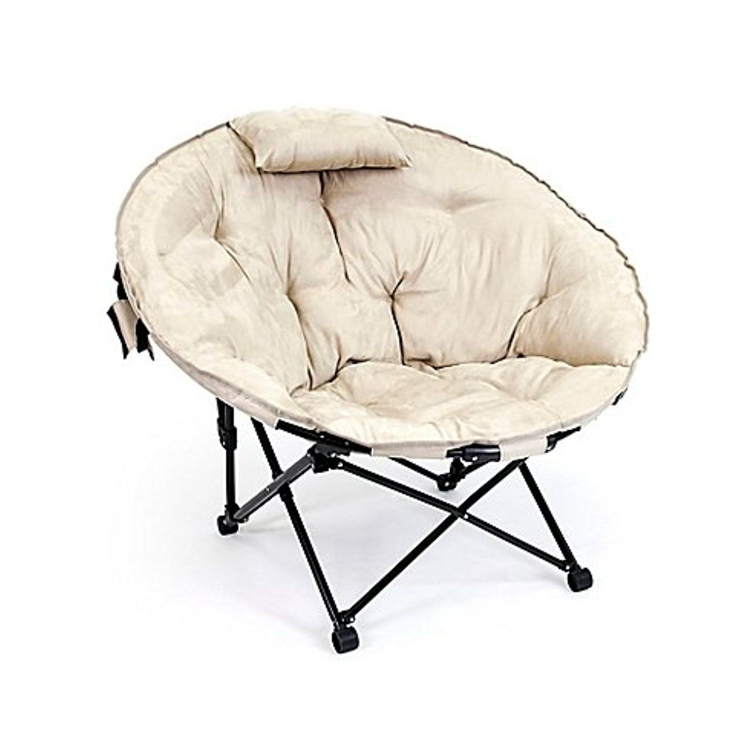 Superbe Folding Moon Chair In Khaki    Awesome Products Selected By Anna Churchill