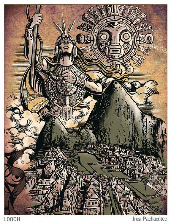 Tatuajes Con Motivos Incas inca pachacútec | imperio 'inca' - pre reinos - perÚ | pinterest
