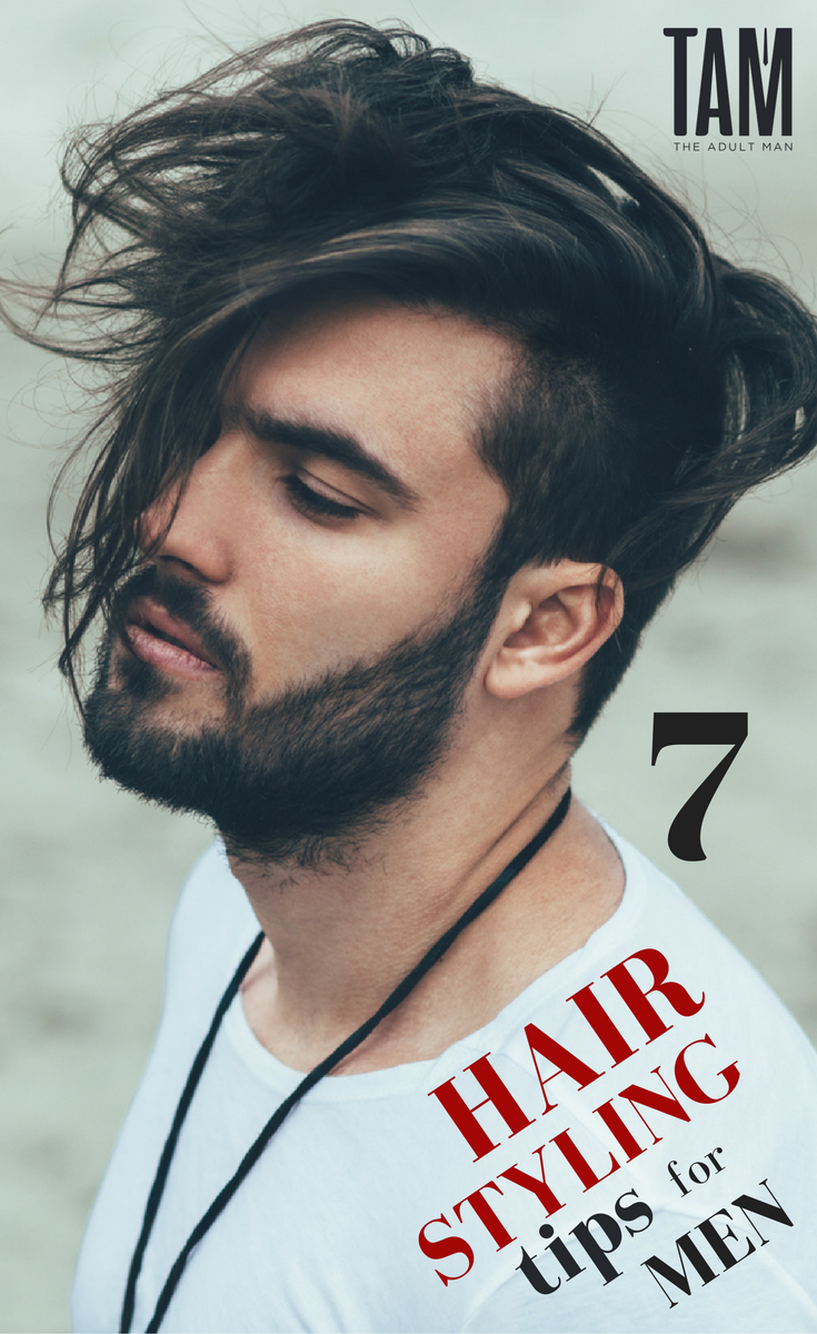 hair styling tips for men click to learn how to maintain your
