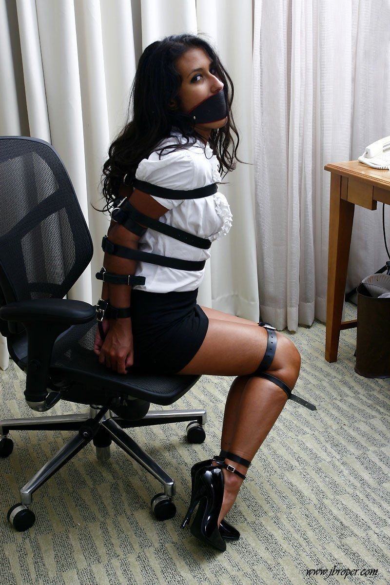 Strapped again  bound fan  Tie Tied up Women ties