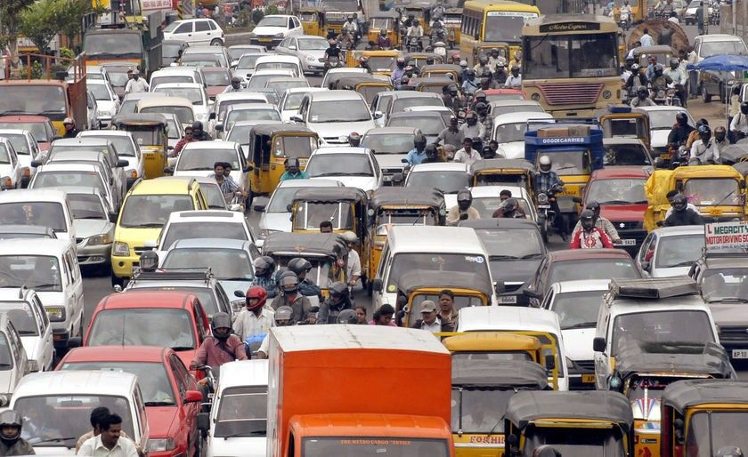 Mumbai Traffic is getting bad to worse every day ( City
