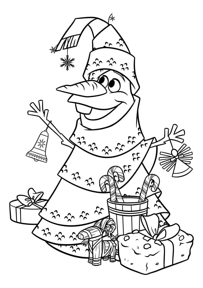 Frozen Christmas Coloring Pages Frozen 2 Coloring Pages