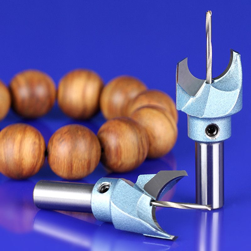 5 Pieces Milling Cutter Router Bit Buddha Beads Ball Knife Woodworking Tools Wooden Beads Drill Fresas Para Cnc Lathe Tools Router Woodworking Router Bits