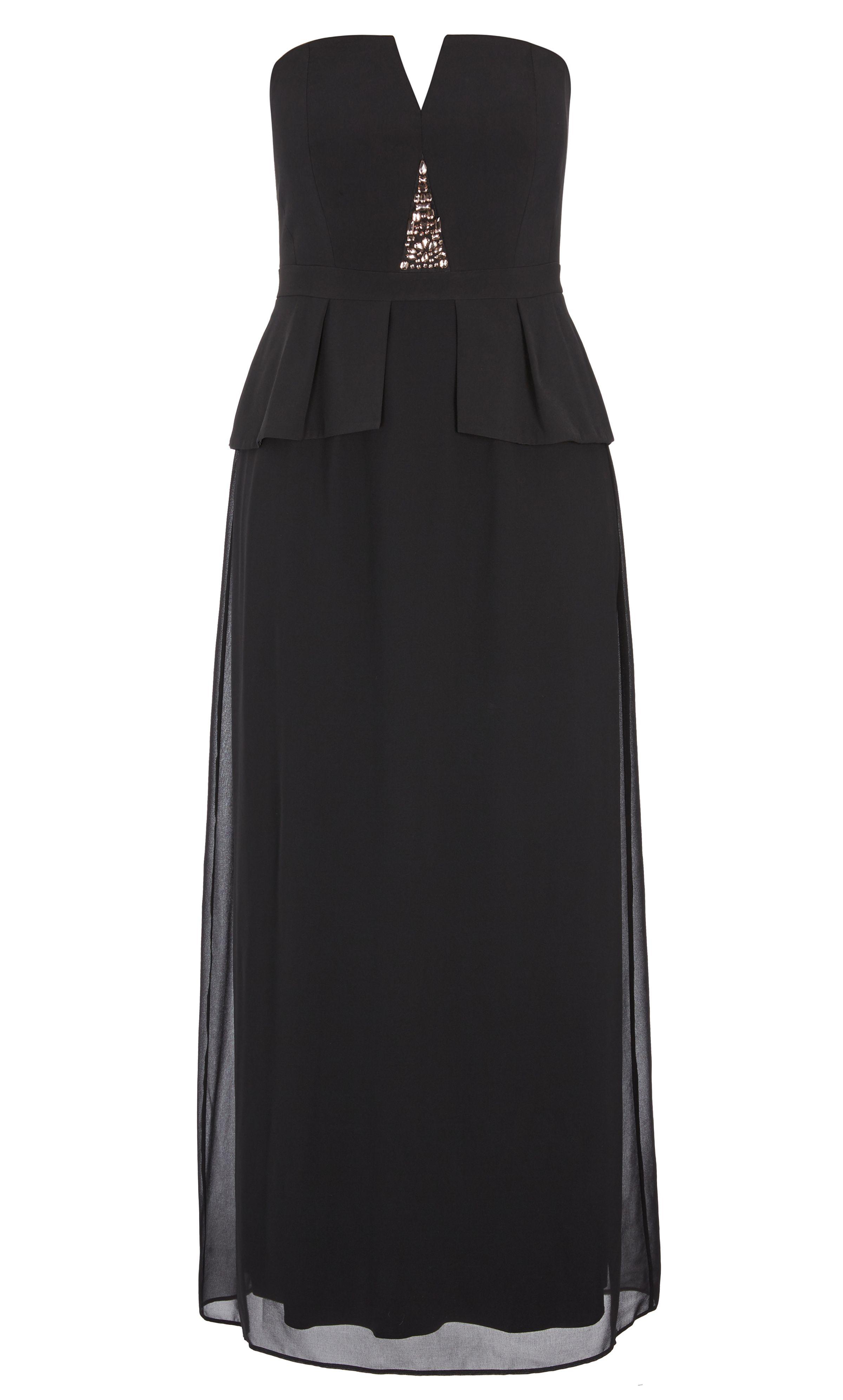 fe1913aa1d3 City Chic - BEADED VIXEN MAXI DRESS - Women s Plus Size Fashion ...