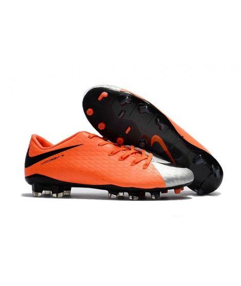 official photos f0a3e 62648 Nike Hypervenom Phelon 3 FG Orange Silber Schwarz Fußballschuhe ...