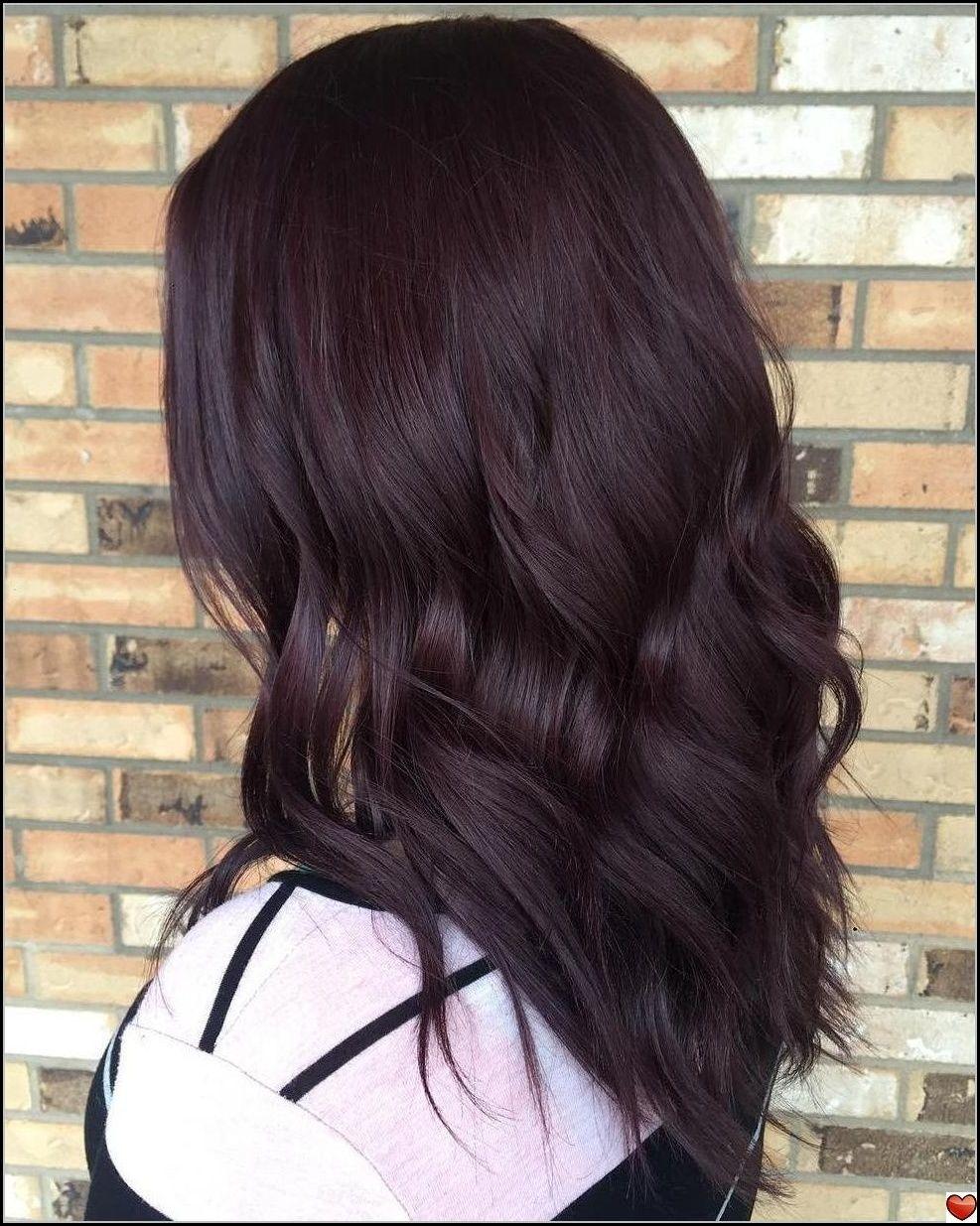 Rotbraunes Haar