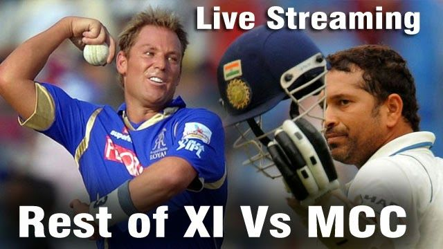 Mcc Vs Rest Of World Xi Live Streaming World Xi Cricket Match World Cup Schedule