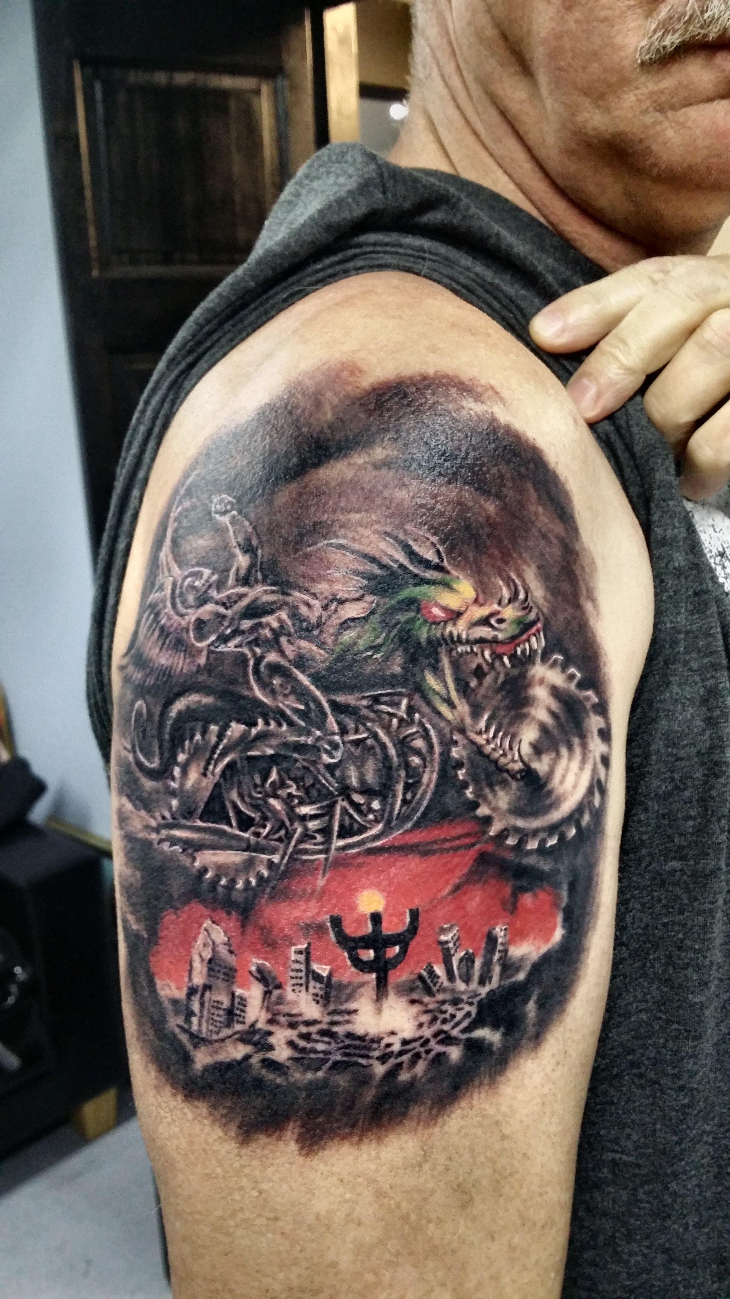 by Justyna Private tattoos, Dark roses tattoo, Tattoo studio