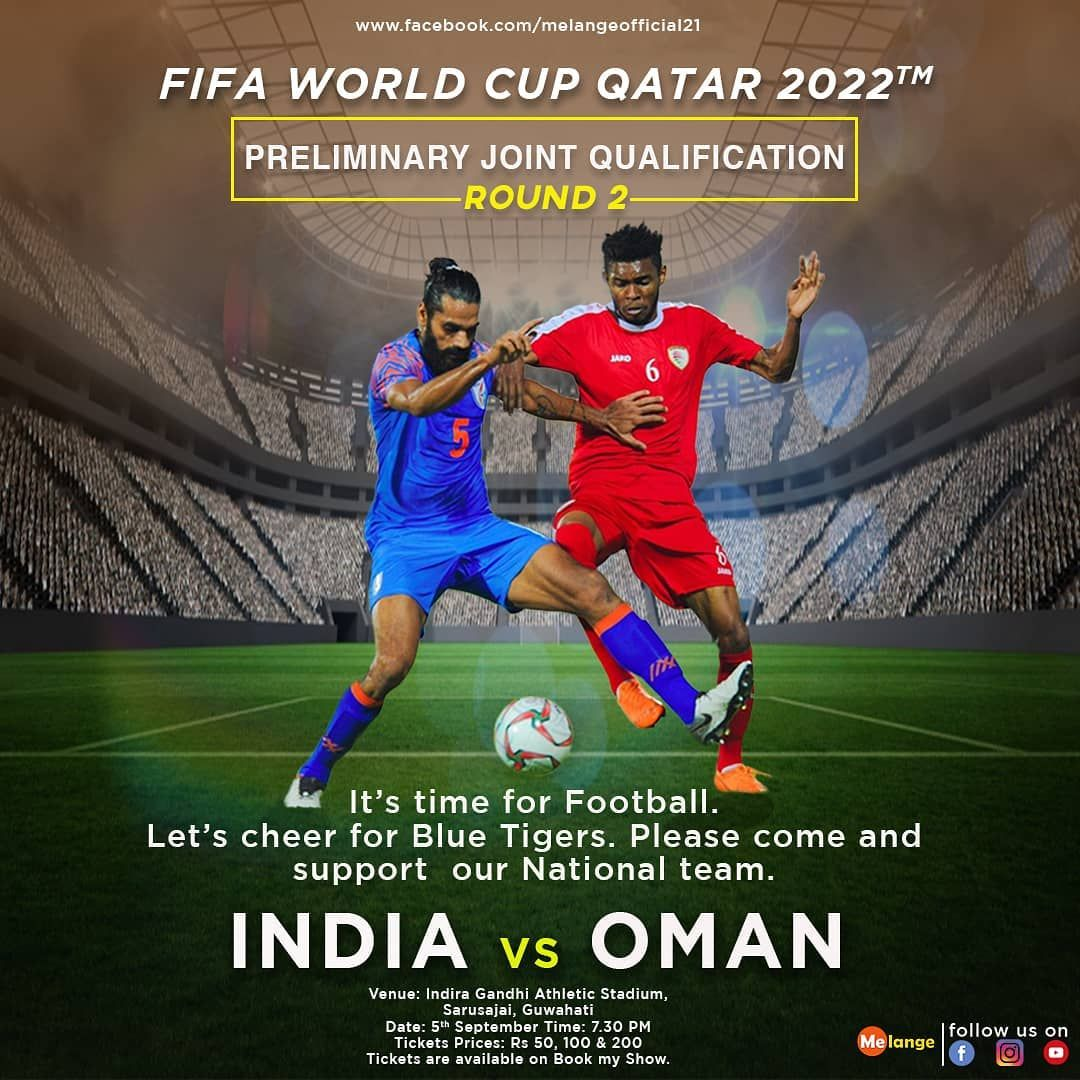 Please Come And Support Our National Team Tickets Are Available On Book My Show Please Come And Support Our Nat World Cup Fifa World Cup National