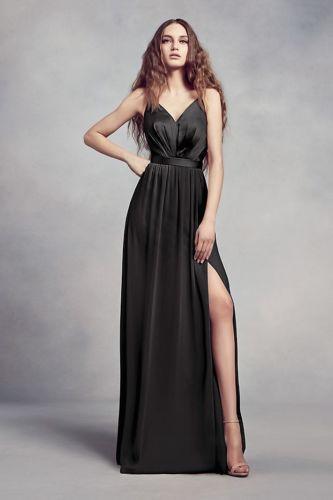 e4adb5c1bb5b Details about Long Sleeveless Chiffon Lace Prom Evening Dress ...