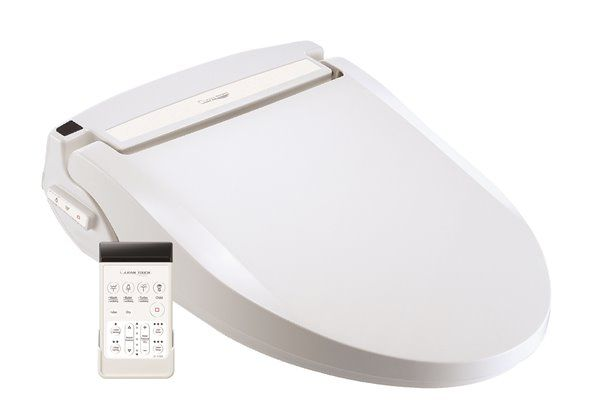 Outstanding Clean Touch White Elongated Electronic Bidet Toilet Seat Dailytribune Chair Design For Home Dailytribuneorg