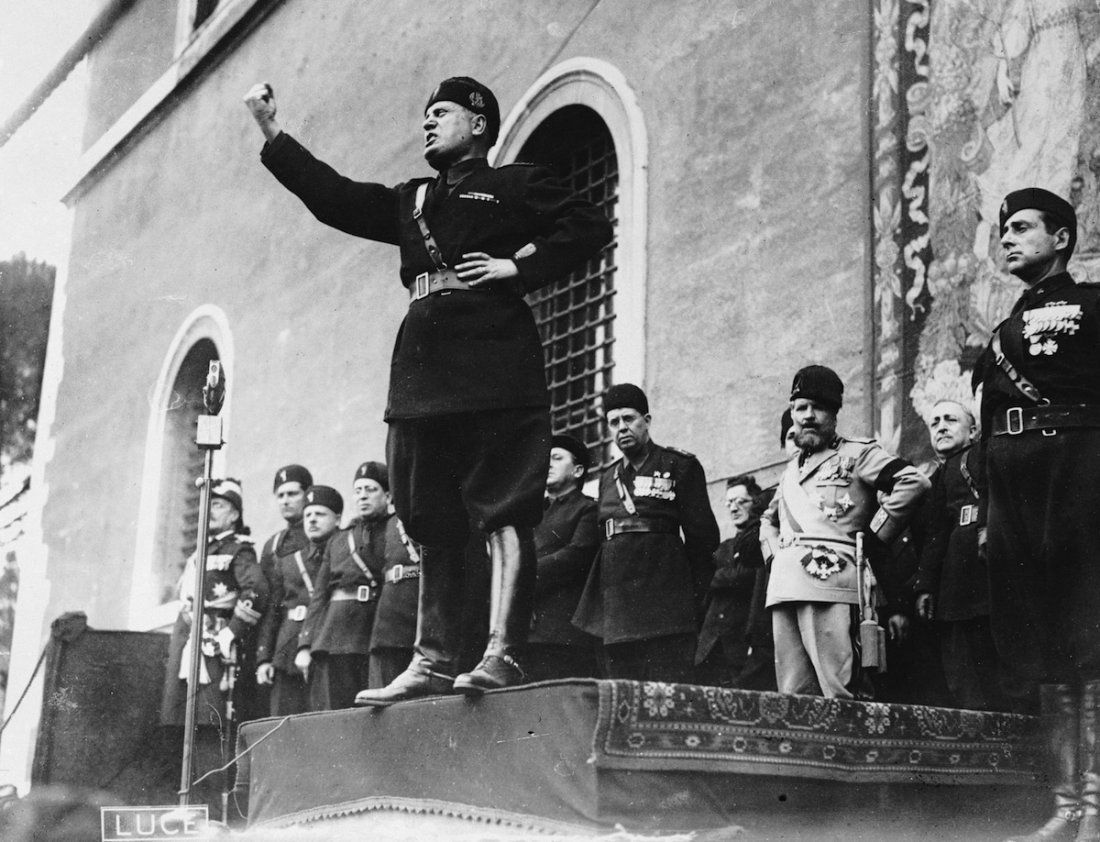 Pin On Benito Mussolini
