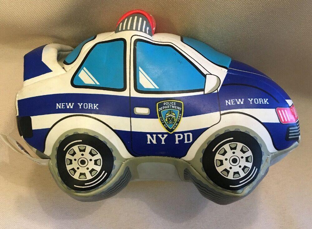 NYPD GOOD STUFF STUFFED CAR VEHICLE Soft Toy New York Police