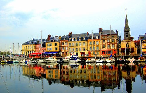 Honfleur's port