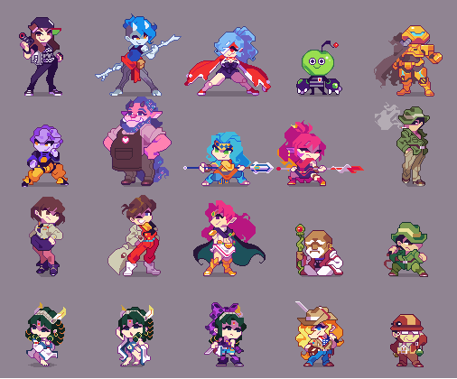 Chris Palamara Puddlefisher Twitter With Images Pixel Characters Character Design