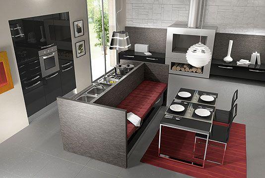 Sicc cucine cucine componibili moderne classiche in - Cucine con panca ...