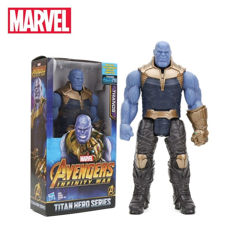 Marvel Avengers Infinity Figure War Titan Hero Series Thanos Action Figure Toys