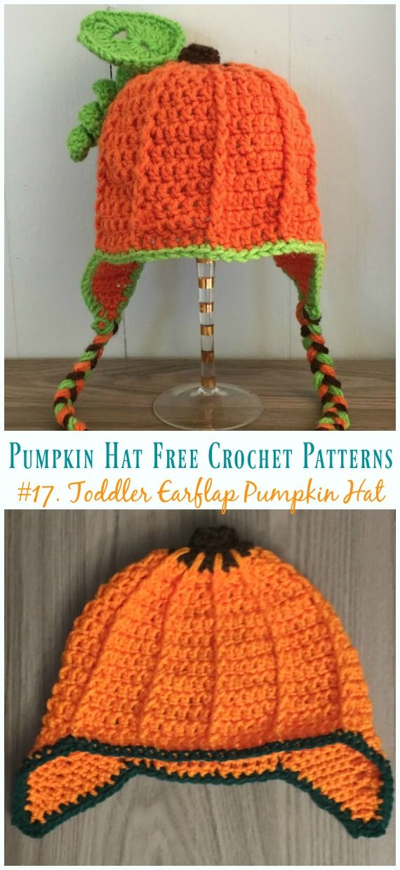 Pumpkin Hat Free Crochet Patterns Perfect For Autumn Harvest