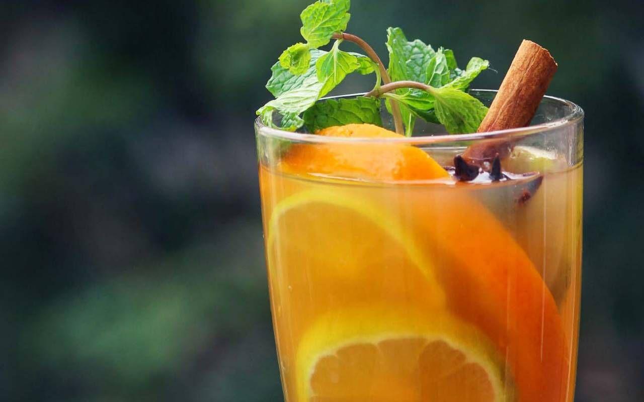 Cinnamon Spiced Orange Iced Tea Recipe