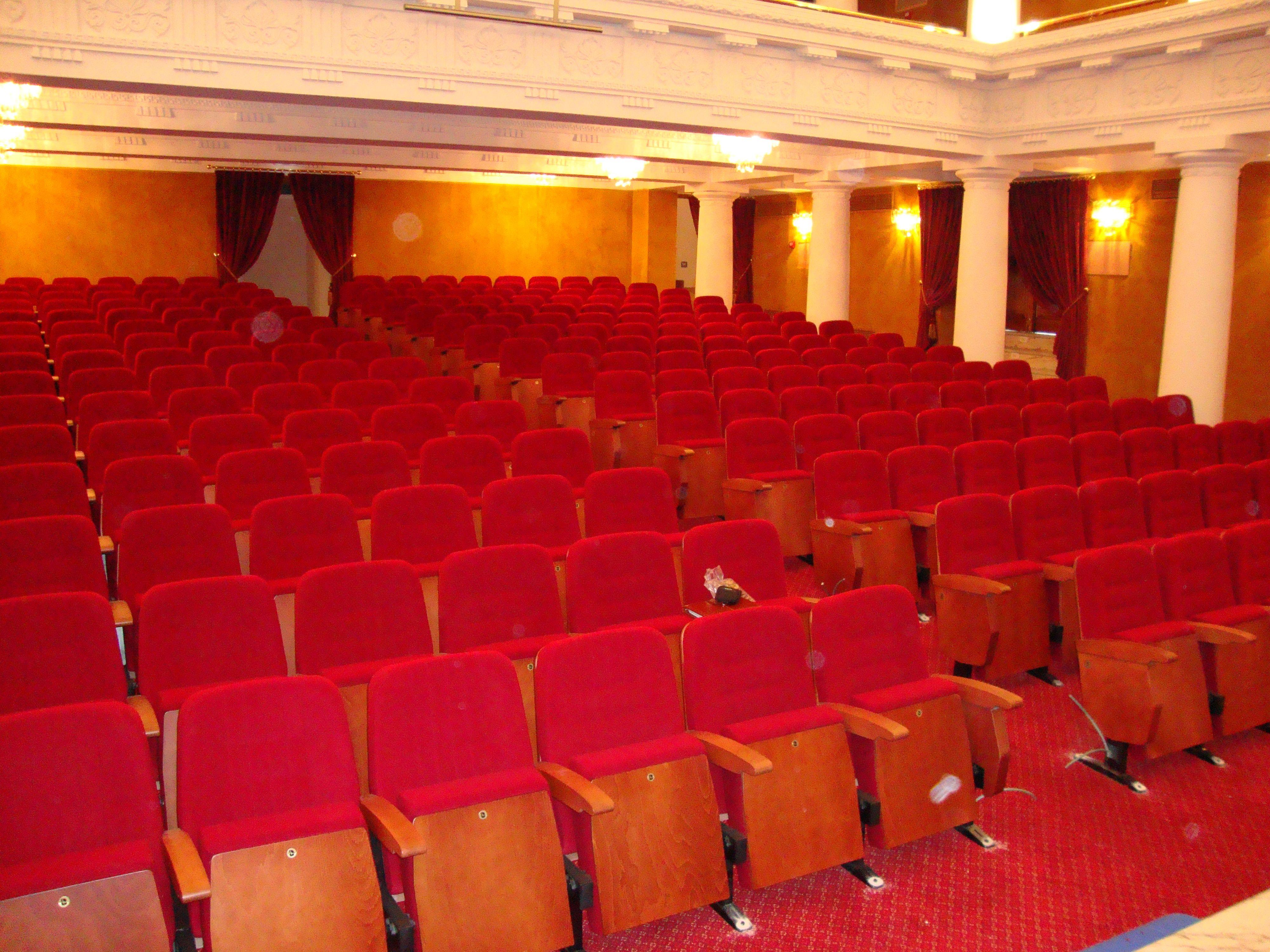 Patio de butacas del teatro cajasol decoratel pinterest teatro butacas y patios - Teatro en alcorcon ...