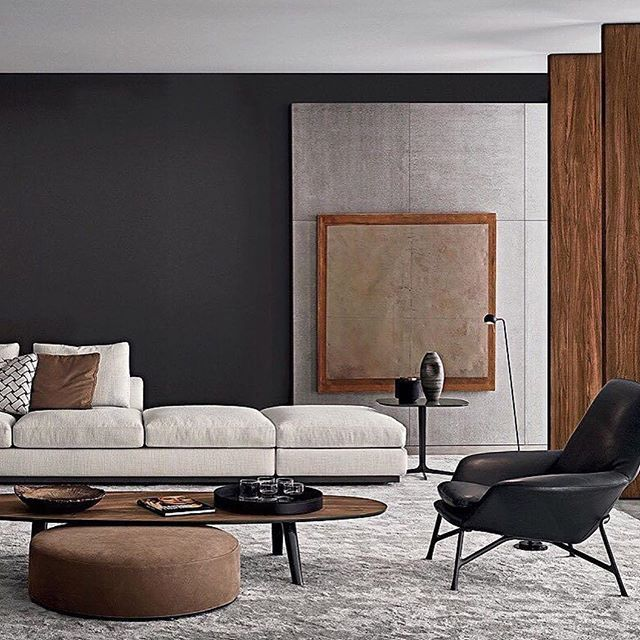 Stilvoll Elegante Wohnzimmer Einrichtung Home Pinterest
