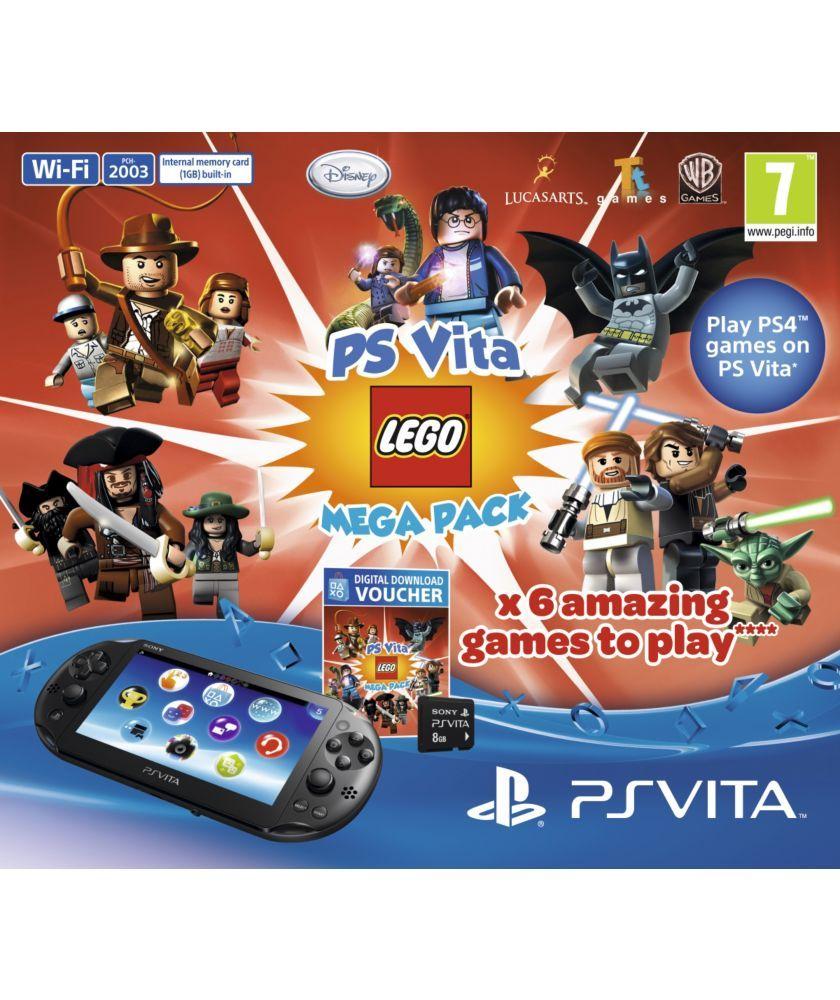 Buy PS Vita Slim Console and LEGO® games Mega Bundle at