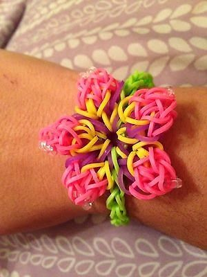 Rainbow Loom Patterns Hibiscus Flower Rainbow Loom Pattern Rainbow Loom Patterns Rainbow Loom Designs Rainbow Loom Bands