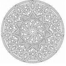 Mandala 51 Coloring page MANDALA