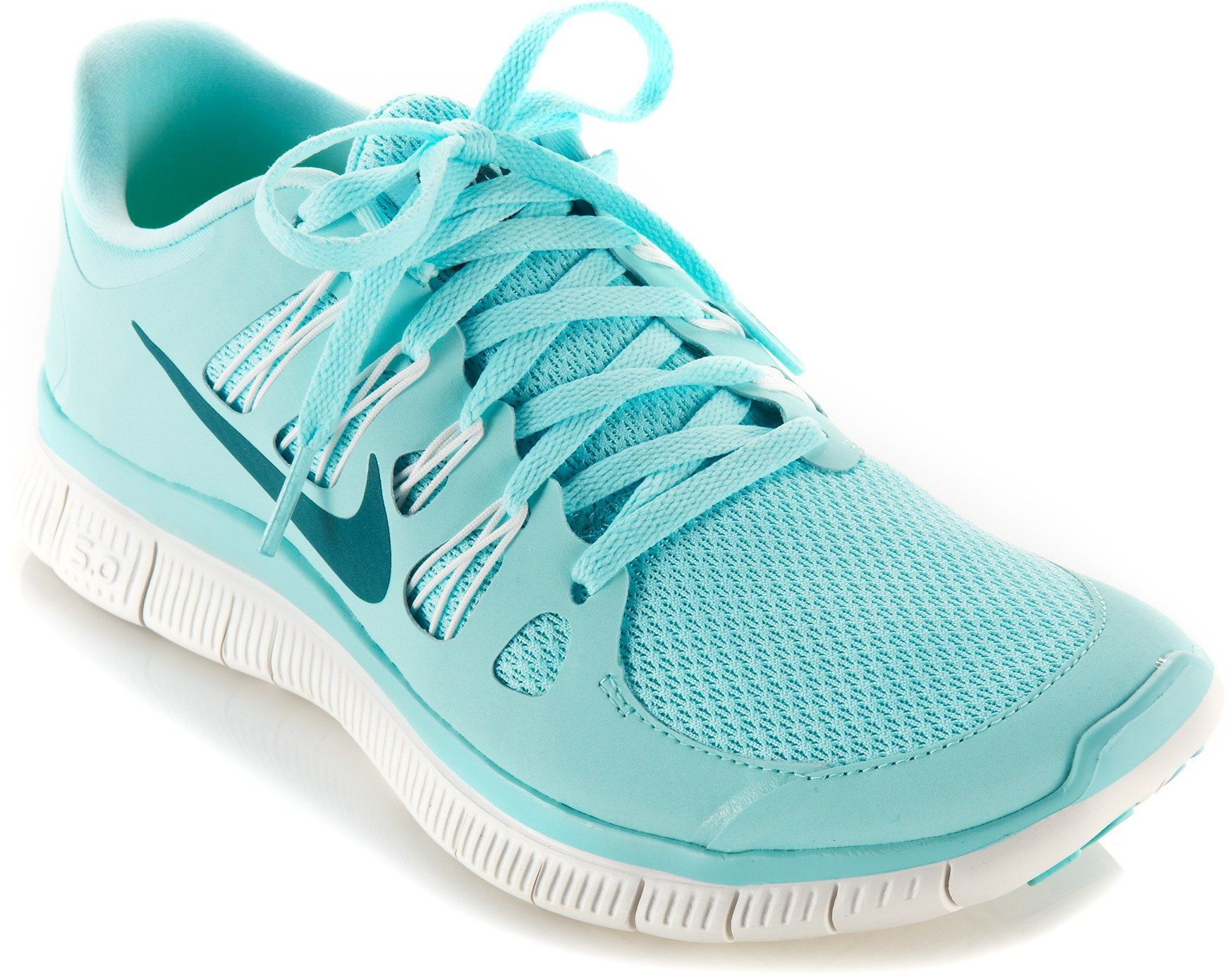 nike free 5.0 womens light blue