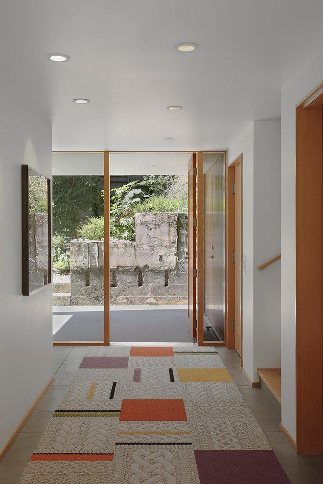 16 Glamorous Modern Entry Hall Designs That