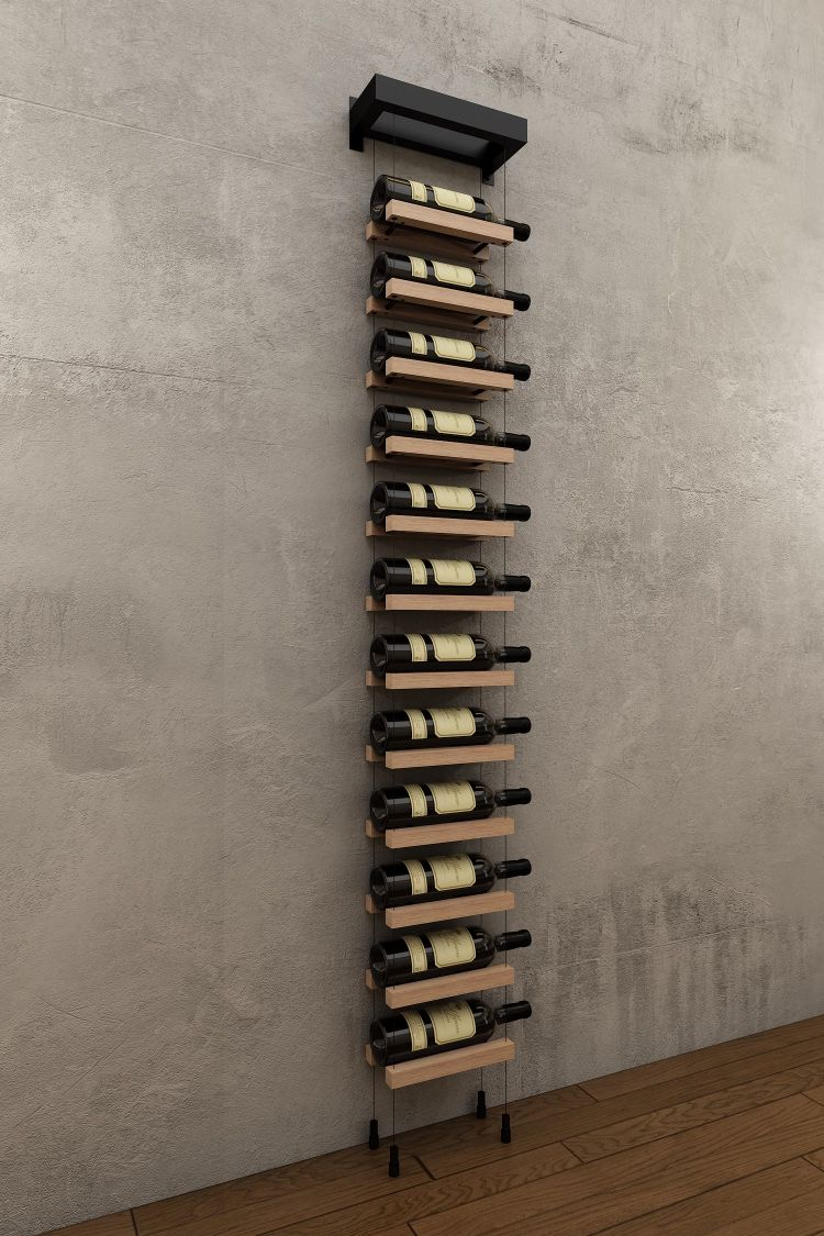 Buoyant Wall Mounted Cable Wine Racks Wall Mounted Wine Rack Wine Rack Wall Wine Cellar Design