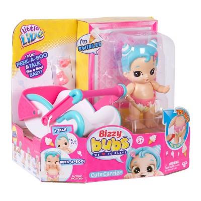 Little Live Bizzy Bubs PeekaBoo Baby Swirlee & Cute
