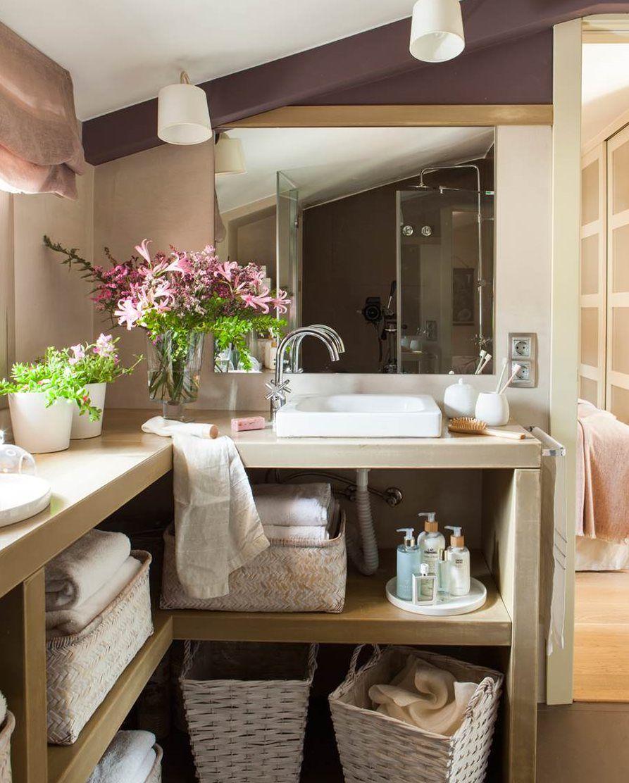 Muebles geniales para baños reales | Decoracion de baños ...