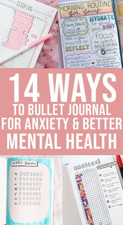 Bullet Journaling For Mental Health & Anxiety | Wellella Bullet Journal Ideas & Planner Printables