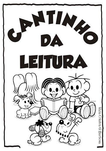 Cartazes De Rotina Para Colorir Turma Da Monica Dia Do Livro