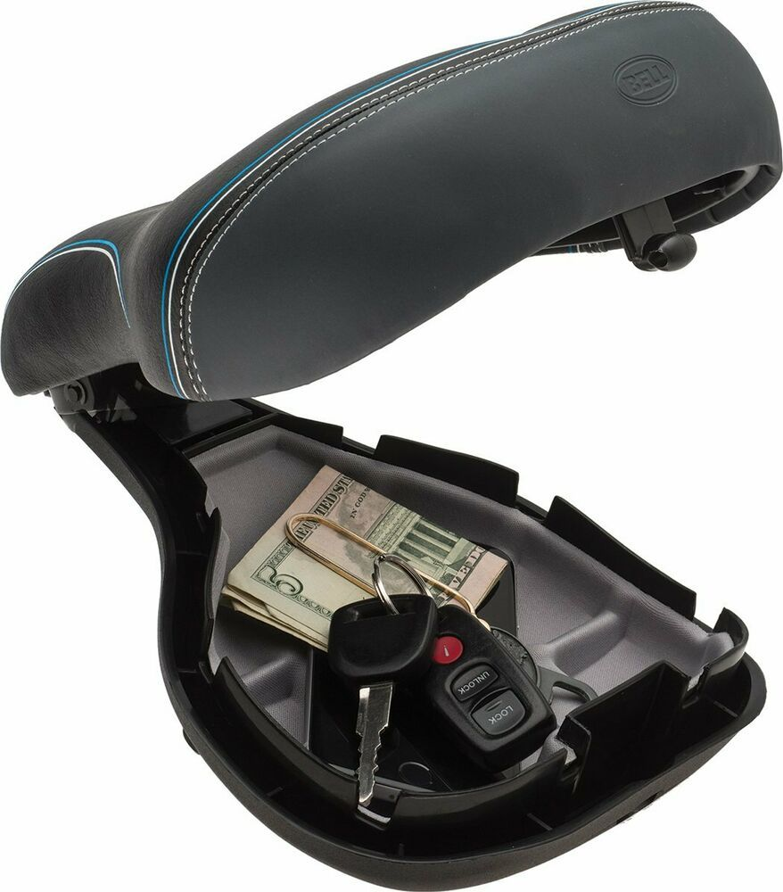 Bell Memory Foam Saddle,Comfort Storage,Seat comfortable and storage area is big