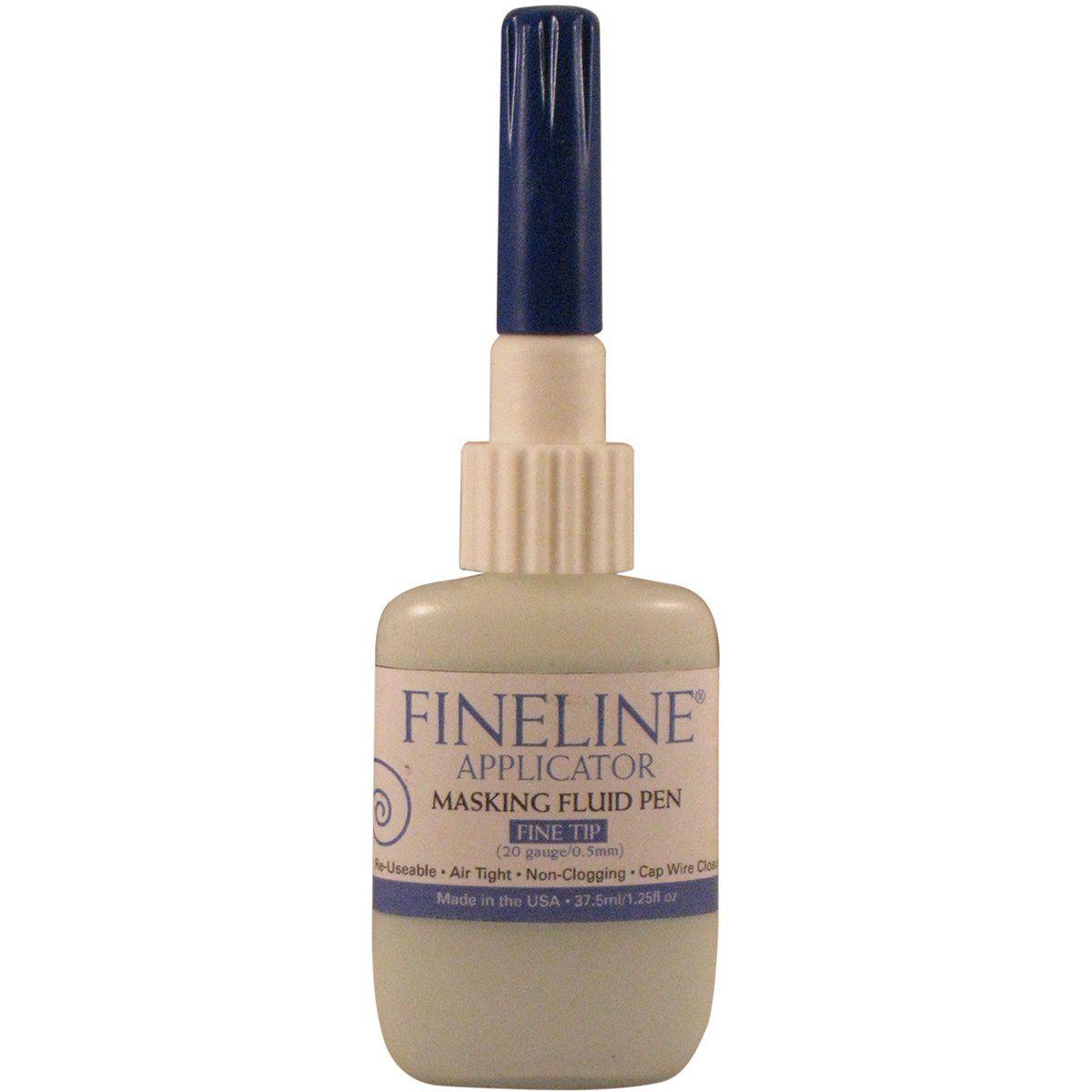 Amazon.com - Fineline Masking Fluid Pen 20 Gauge W/Masking Fluid, 1.25 Ounces - Automotive Applicator Tools