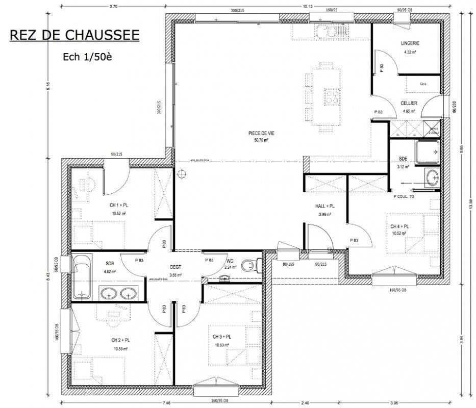 686e21b2dbb81 Plan achat maison neuve à construire - Logis du Marais Poitevin  Avant-Projet LES EPESSES