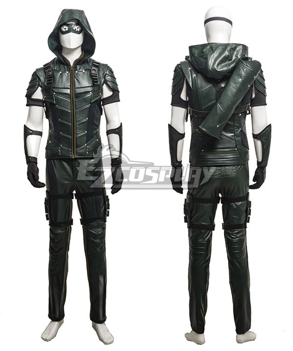 Dc Comics Green Arrow Season 4 Oliver Queen Arrow Cosplay Costume Updated Version Green Arrow Costume Arrow Cosplay Arrow Costume