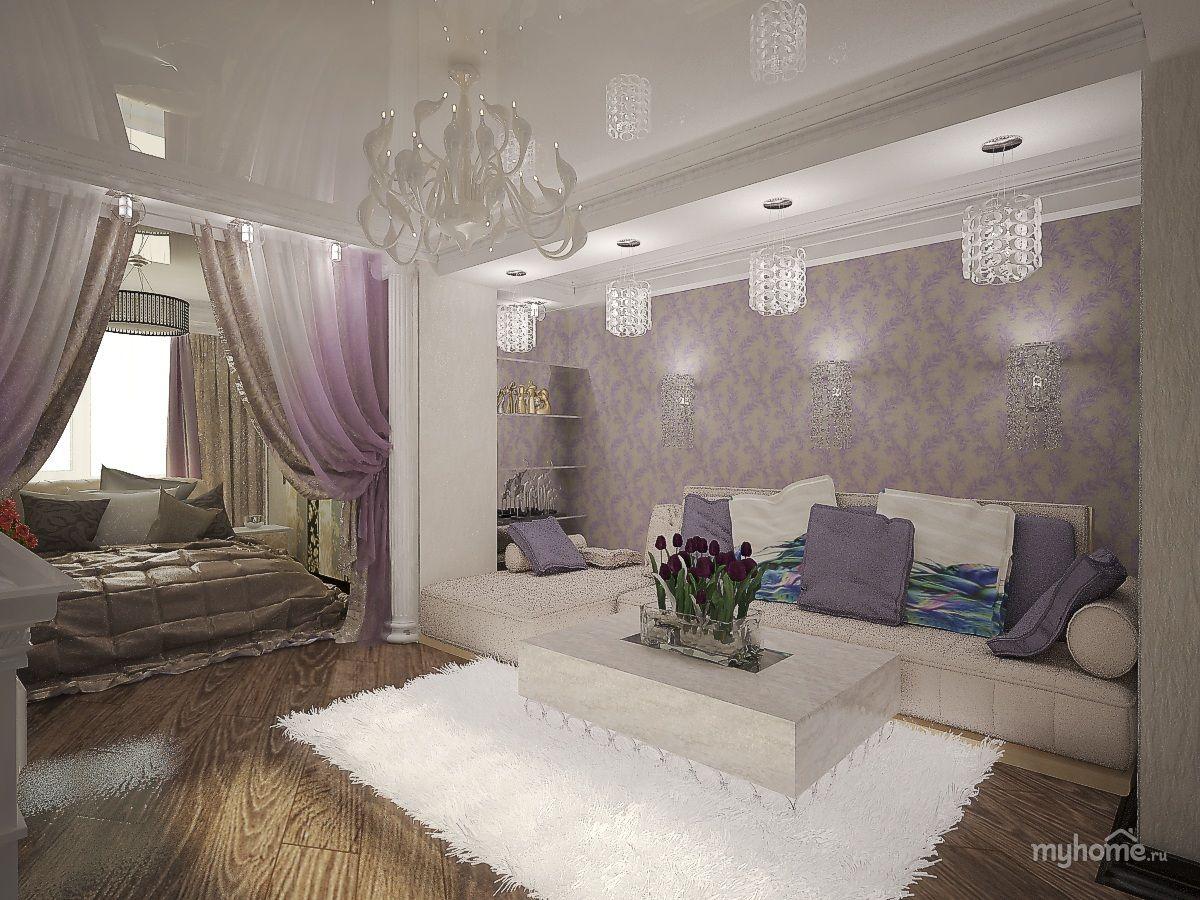 зал-спальня в одной комнате 18 кв м: 25 тыс изображений ...