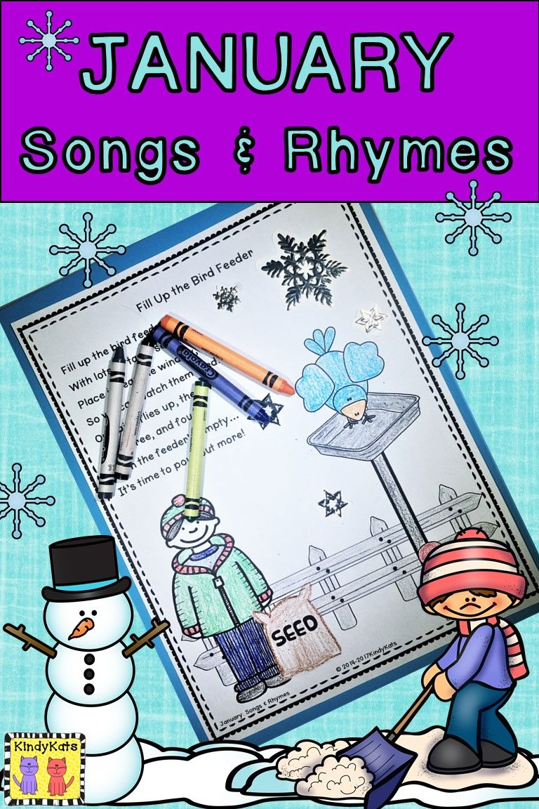 January Songs Rhymes Martin Luther Luther And School Themes