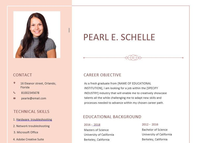 Professionally Designed High School Resume Template And Cover Letter Cvtemplate Resumewi High School Resume Template High School Resume Resume Template Word