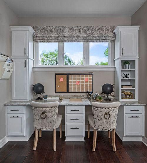 Ksi Designer Brooke Schall Transitional Home Office By Ksi Kitchen Bath Transitional Home Office Home Cabinet Design