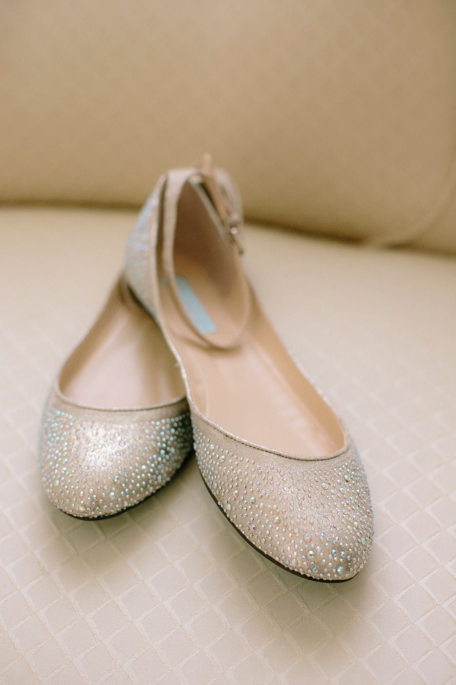 Sparkly Flats Read More Http Www Stylemepretty California Weddings 2017 08 06 Garden Wedding At La Jolla Darlington House Photography