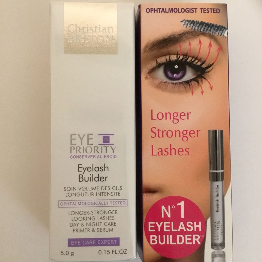 5f3edfd6630 Christian Breton Eyelash Builder Primer & Serum 5g Lash Lengthener Eye  Priority #ChristianBreton