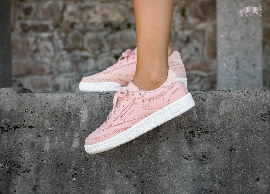 28be5716 Reebok Club C 85 NT (Rose Cloud / White) | styloweczka i vogule ...